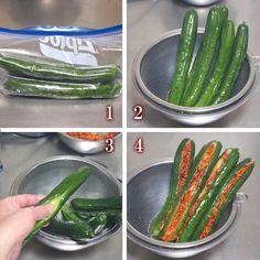 Cooking Recipes, Healthy Recipes, Korean Food, Food Menu, No Bake Desserts, Japanese Food, Deli, Vegetable Recipes, Asparagus