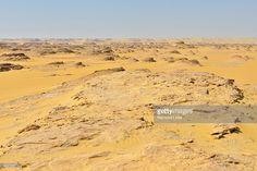 Photo : Scenic view of Desert Landscape, Matruh, Libyan Desert, Sahara Desert, Egypt, North Africa, Africa