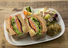vegan sandwich  Mr.FARMER 表参道本店 料理・ドリンク - ぐるなび