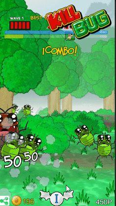 Power of Cannon! KILL BUG new update! v2.3 :) free download >  https://play.google.com/store/apps/details?id=com.silgam.killBugGP