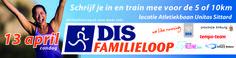 Banner 2014 lekker lopen met je collega's tijdens de DIS familieloop 2014 op 13 apri.