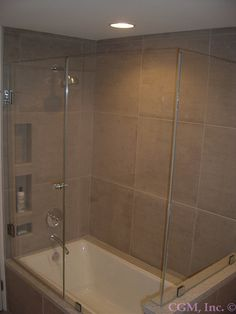 Tub/Shower Combo with an updated look