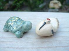 Crane and tortoise chopstick rests, $28.49