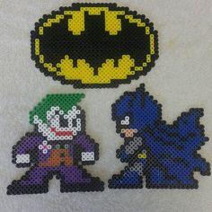 Batman perler beads by Nerd Fabulous