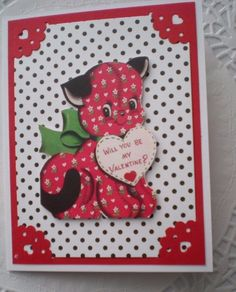 Holiday card making kit DIY set of 4 with Julie by MickeysManners