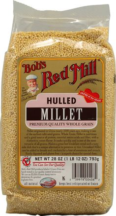 Bob's Red Mill Grains-Of-Discovery Whole Grain Millet -- 28 oz Sources Of Soluble Fiber, Oat Groats, Breakfast Recipes, Snack Recipes, Creamy Rice, Bobs Red Mill, Cancer Fighting Foods, Nutritional Supplements