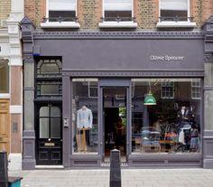 Oliver Spencer store in London, UK