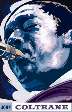 John Coltrane - Jazz Legends by Garth Glazier