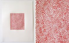 Embroidery on paper by Emily Barletta