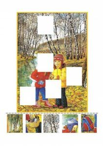 Find missing piece activities for kids Kids Activity Books, Activities For Kids, Classroom Crafts, Missing Piece, School Lessons, Fine Motor Skills, Halloween Crafts, Seasons, Frame