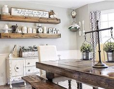61 Gorgeous Modern Farmhouse Dining Room Design Ideas