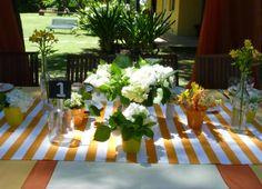 La mesa principal Lugar: Un lugar en el arroyo, Delta del Tigre