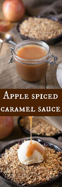 Delicious caramel sauce taken to the next level with apple extract and Autumn spices.