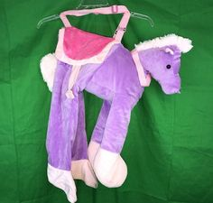 Pink and Purple Butterfly Halloween Costume Infant Size Months Children's Pl Halloween Costumes For Sale, Halloween Decorations, Horse Costumes, Dance Wear, Purple, Pink, Dinosaur Stuffed Animal, Infant, Horses