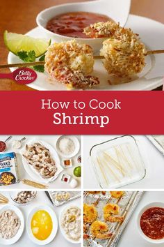 Don't be intimidated by cooking shrimp. This delicious protein is easy to prepare if you follow a few basic guidelines. Martha Stewart Cooking School, How To Cook Shrimp, Betty Crocker, Shrimp Recipes, Kitchen Hacks, Cooking Tips, Schools, Meal Prep, Ms