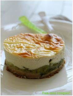 Fais-moi croquer !: Cheesecake aux courgettes et au chêvre