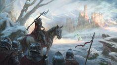 ArtStation - Ride of the North King, Stuart Harrington