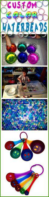 custom color water beads