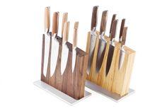 Unser Messerblock mit Messern von Pott
