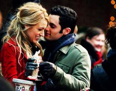 lonely boy + serena look like they're on their way back to love land.