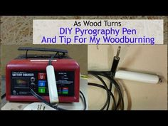 DIY Pyrography Pen And Tip For My Woodburning - YouTube