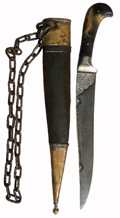 fine large and complete Afghan knife