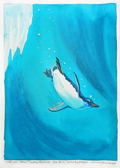 'WHAT'S YOUR NAME?' CALLED THE WIND. 'SEA-BIRD!' SHOUTED THE PENGUIN by MICHAEL FOREMAN