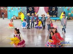Festa Junina 2018 (ESI-Auxiliadora) 3º ano A - YouTube Musicals, Make It Yourself, Youtube, Embellishments, Cooperative Games, Magick, Xmas, Art, Youtubers