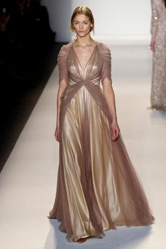 Jenny Packham at New York Fashion Week Fall 2013 - StyleBistro Fashion Week, New York Fashion, Runway Fashion, Fashion Show, Jenny Packham, Long Prom Gowns, Formal Evening Dresses, Evening Gowns, Beautiful Gowns