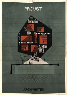 """Gallery of Federico Babina's ARCHIWRITER Illustrations Visualize the """"Architecture of a Text"""" - 18"""