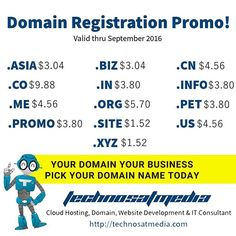 Special Programmer's Day - The Day of The Programmer  Today and tomorrow is the same day your act make it different. Have a business plan on minds? Let's start by picking the best domain name for your business and let's get in touch.  For everyone who born at September 13 - September 30 get your best website  android app only for $399  Sent your ID card pictures to my email : Mr.vero@usa.com  Have a best day :D  #worldcode #html5 #webdeveloper #buildtheweb #uxdesign #uidesign #development…