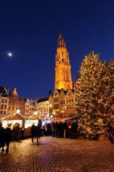 Antwerp Christmas Market, Antwerp, Belgium