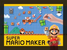 Nintendo's game of the year for 2015! Create a near-infinite number of inventive Super Mario courses with Super Mario Maker for the Wii U. Coming Sept-15.