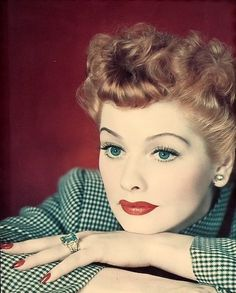 Lucille Ball, beautiful, stylish and one of the funniest women to ever have lived. You may or may not see a lot of her on this board.