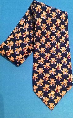 For the New Father...Tie Wearing Teddy Bears!  100% Silk  $9.99