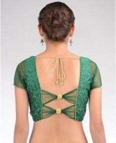 fancy saree blouse designs - Google Search