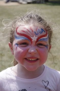fourth of july face painting - Google Search