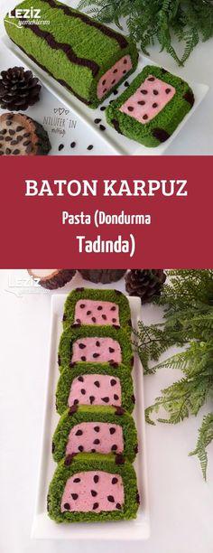 Baton Karpuz Pasta (Dondurma Tadında)