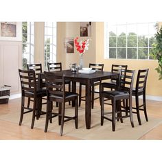 Found it at Wayfair - Triple Crossing 7 Piece Counter Height Dining Set