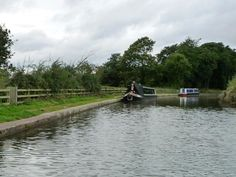 Narrowboats moored near Dutton Hall..I miss living here :(