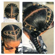 #CornrowsHairstyles - wow gorgeous, could see this as a popular style in ancient African cultures