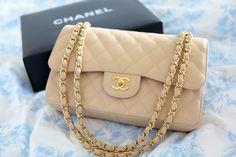 Chanel 2.55 nude