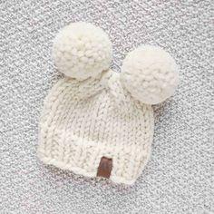Newborn Knit Hat Pattern Free 16 Earflap Hat Knitting Patterns The Funky Stitch. Newborn Knit Hat Pattern Free Knit Bit The Perfect Preemie Ba Hat Lov. Baby Hat Knitting Patterns Free, Baby Hat Patterns, Baby Hats Knitting, Knitted Hats, Easy Knitting, Knitting Ideas, Knitting Projects, Baby Pom Pom Hat, Newborn Knit Hat