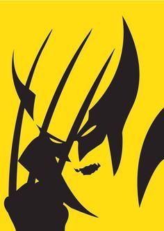 Super heróis em versões minimalistas por Michael Turner