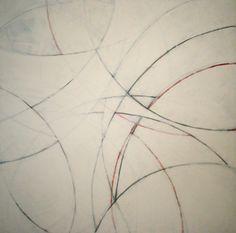 untitled [2003] spraycan & gesso on canvas - 120x120 cm