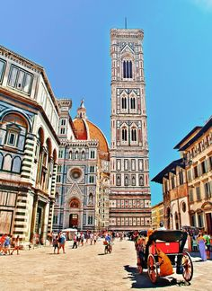 Florence is one of the most popular cities to visit in Italy, not least for the inspiring architecture and history.