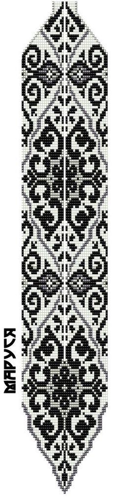 бисеринка схеми ГЕРДАН и ЖГУТОВ | VK More Seed Bead Patterns, Peyote Patterns, Beading Patterns, Collar Indio, Peyote Beading, Beaded Ornaments, Loom Bracelets, Seed Bead Jewelry, Beading Projects