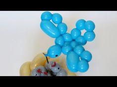 Птичка из одного шара твистинг / Bird of one balloon twisting - YouTube