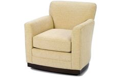 One of the many Wesley Hall chairs available. Here we have a small swivel perfect for a bedroom or smaller space.