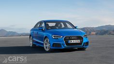 A facelift for the 2016 Audi A3 (and Audi S3) sees the usual cosmetic tweaks and new engines, including a 3-cylinder 1.0 litre petrol turbo.